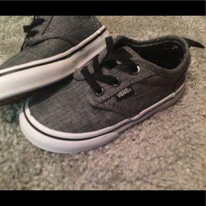 Toddler grey Vans
